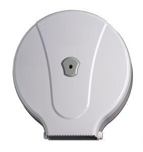 T908002 Distributore carta igienica in ABS bianco 400 metri