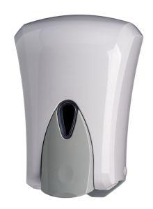 T908041 Distributore di sapone liquido push ABS bianco 1 litro