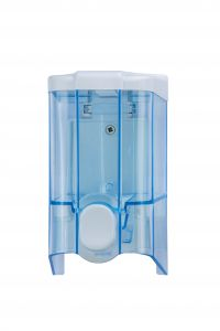 T908140 0,5 Liter soap dispenser blue ABS