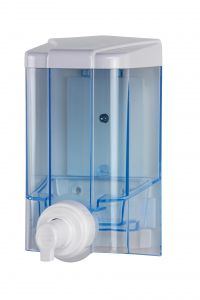 T908145 Foam soap dispenser blue ABS 1 liter