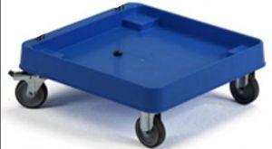 CP1448 Base porte-paniers sur 4 roues pour paniers lave-vaisselle base ABS