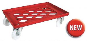 CB1449 Trolley ABS to transport pizza dough boxes 60x40 without handle
