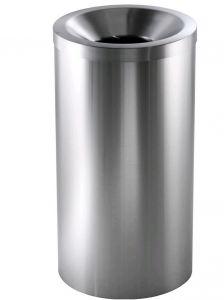 TAV 4620 Gettacarte autoestinguente in acciaio inox satinato capacità 50 litri