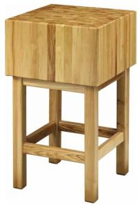 CCL3577 35cm wooden block with 70x70x90h stool