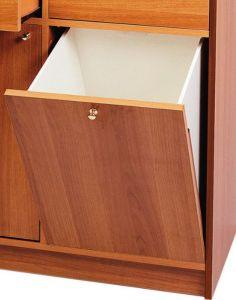 A250W WENGE 'application de trémie de meubles
