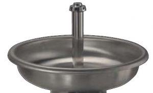 LX1600 Lavabo circolare INOX solo vasca diam.1000x250 mm