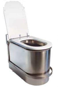 LX3120 Toilette anti-inondation avec registre anti-retour avec verrouillage de sécurité 600x340x420 mm