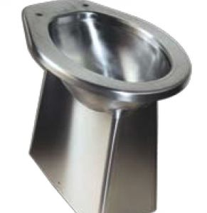 LX3180 Siège de toilette au sol en acier inoxydable LX3140530x360x500 mm