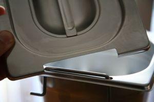 CPR2/4M Coperchio 2/4 in acciaio inox AISI 304 con spacco maniglie