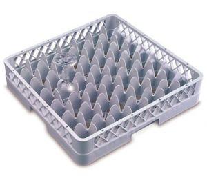 B49 Base 49 compartiments 50x50x9h grise pour verres diam. 6 cm