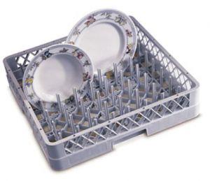BP Panier de lave-vaisselle gris 50x50x9h assiettes/plateaux