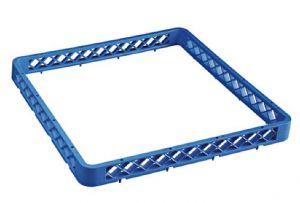 RIAU Elévation universel pour panier lave-vaisselle 50x50 h4,5 bleue