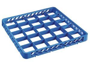 RIA25 Rialzo 25 scomparti per cestello lavastoviglie 50x50 h4,5 blu