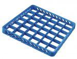 TRIA36 Elevacion 36 compartimentos para cesta para lavavajillas 50x50 h4,5 azul