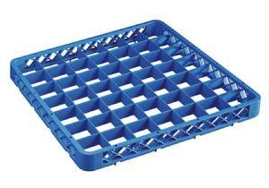 RIA49 Rialzo 49 scomparti per cestello lavastoviglie 50x50 h4,5 blu