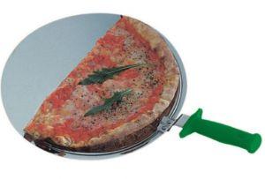 AV4931 Palette ronde professionnelle pour pizzas en acier inox Ø33cm
