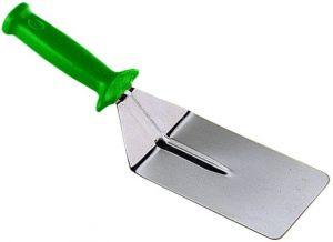 AV4954Professional stainless steel rectangular scoop for pizza 10x15 cm