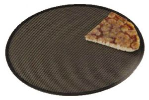 AV4956 Professional aluminium round pizza screen Ø33cm