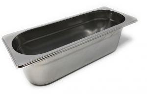 GST2/8P100 Contenitore Gastronorm 2/8 h100 in acciaio inox AISI 304